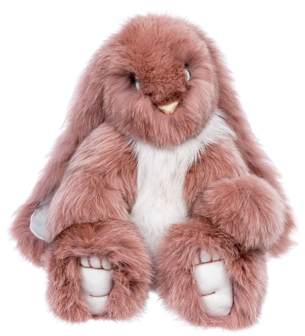 Toys made of natural fur Hare (55 cm) – photo #4