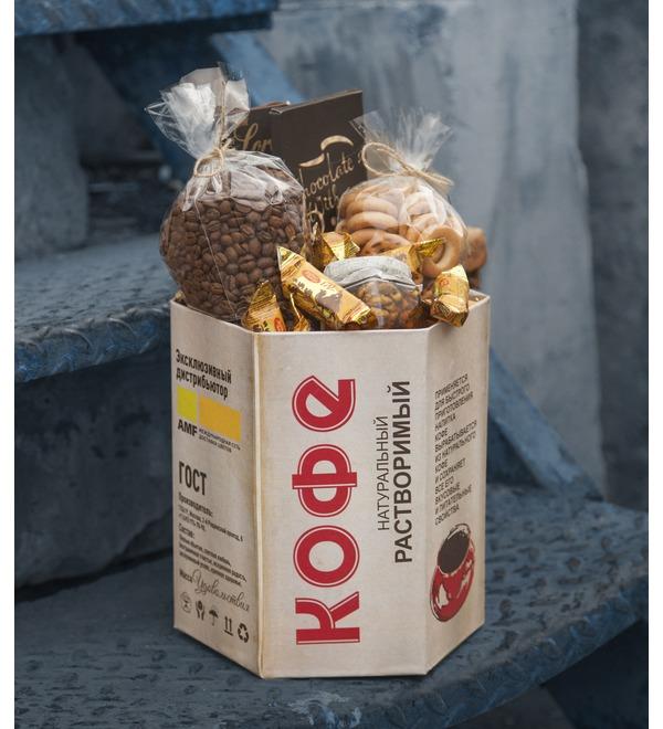 Подарочная коробка Ароматный кофе – фото № 1