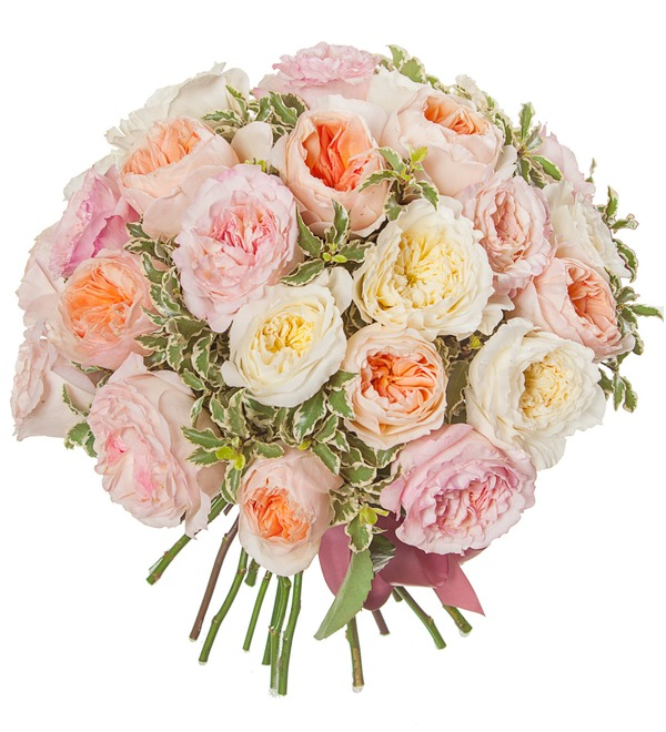 Bouquet-trio David Austin (15,25,51 or 75) – photo #5