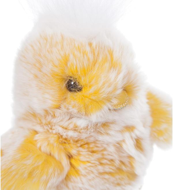 Игрушка из натурального меха Цыпленок – фото № 2