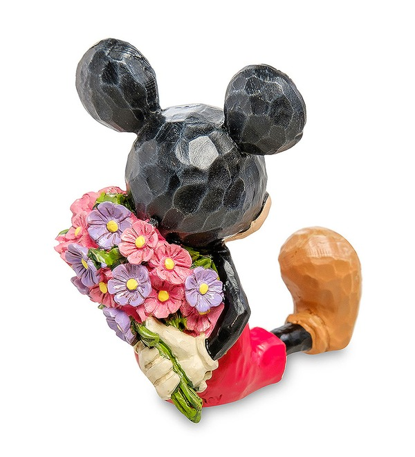 Figurine Mini Mickey Mouse with flowers (Disney) – photo #3