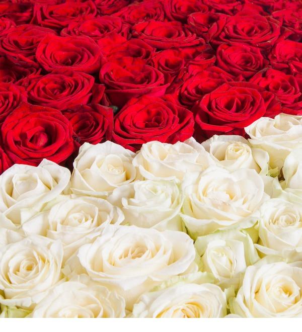 Композиция Мое сердце - тебе (1001 роза) – фото № 3