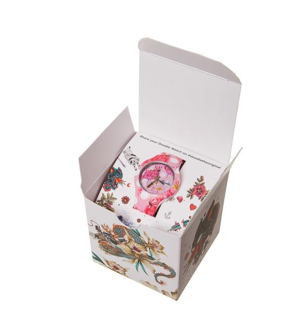 Часы Doodle Фламинго – фото № 4