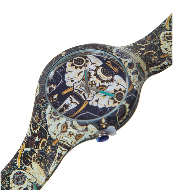 Часы Doodle Азиатский слон – фото № 2