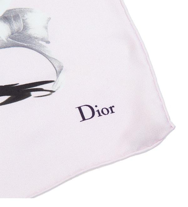 Silk scarf Christian Dior (Italy, 50х50 cm) – photo #2