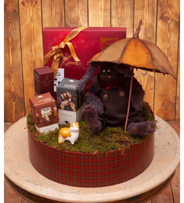 Подарочная коробка Под зонтом – фото № 1