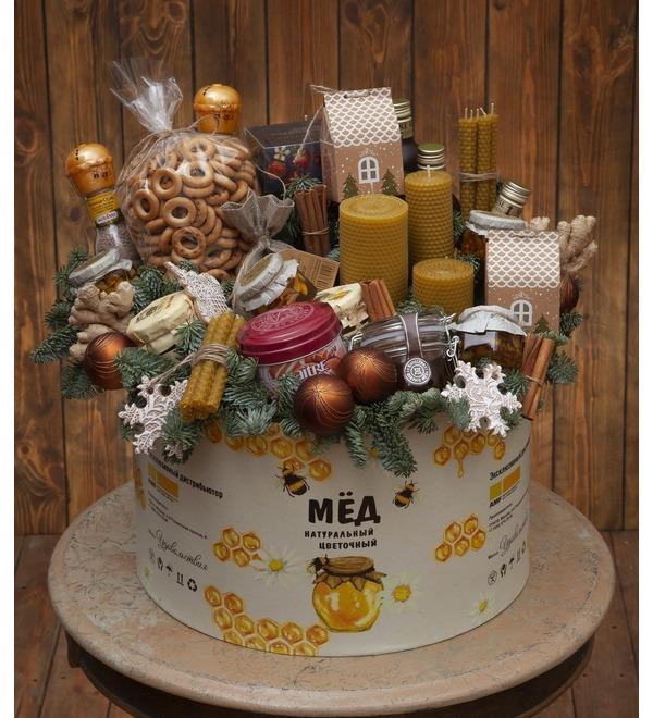 Подарочная коробка Медовый аромат – фото № 1