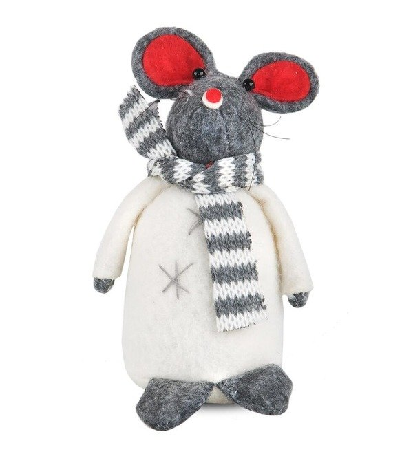 Фигурка Мышь в шарфике – фото № 1