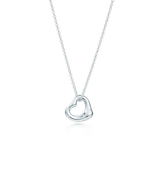 Necklace Open Heart – photo #1