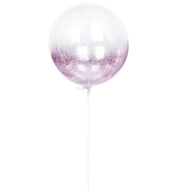 Эксклюзивный воздушный шар с глиттером – фото № 4