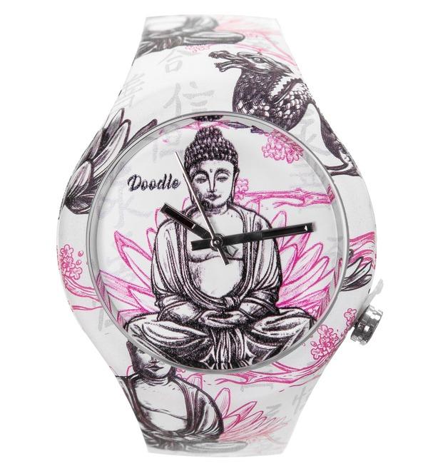 Часы Doodle Будда – фото № 1