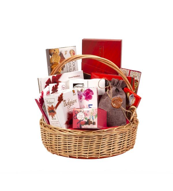 Подарочная корзина Счастье и сладости – фото № 4