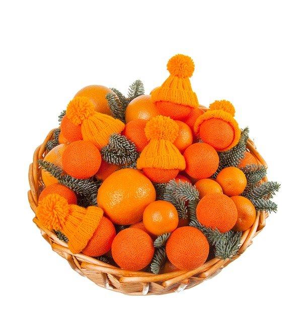 Подарочная корзина Оранжевое чудо – фото № 5