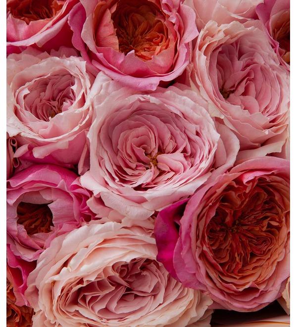 Букет-дуэт японских роз Концерт под Луной (15,25,35,51,75 или 101) – фото № 3