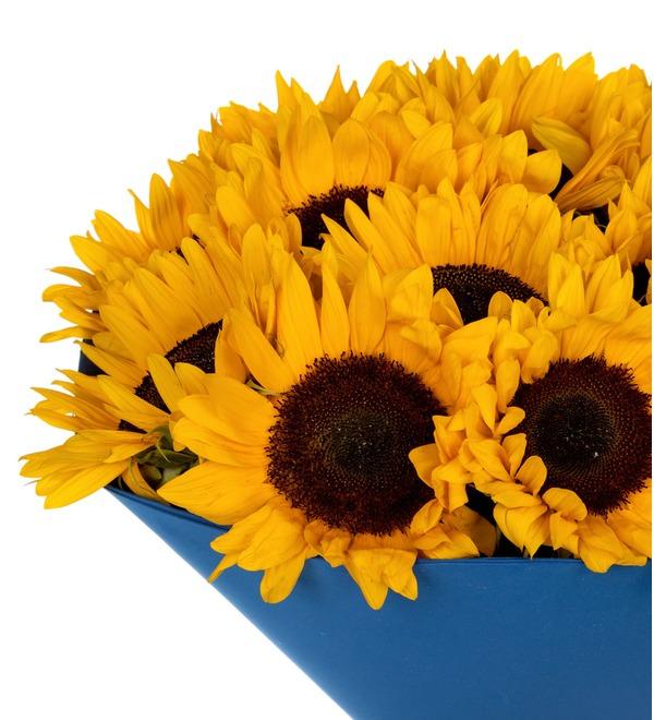 Букет-соло Солнце в подарок (9,15,25,35 или 51) – фото № 4