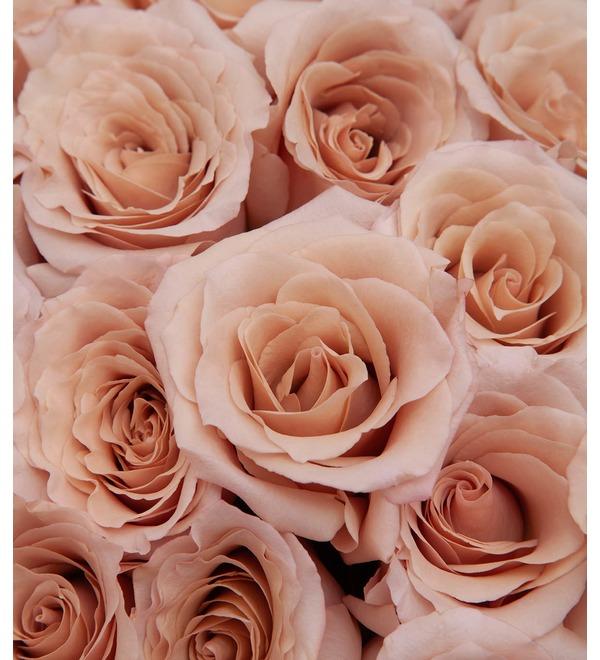 Букет-соло пионовидных роз Quicksand (9,15,25,35,51 или 75) – фото № 2