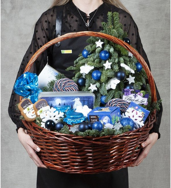 Подарочная корзина Иней на ёлке – фото № 1