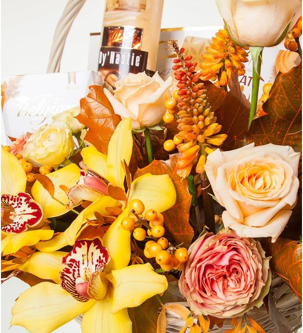 Подарочная корзина Золотая вуаль – фото № 3
