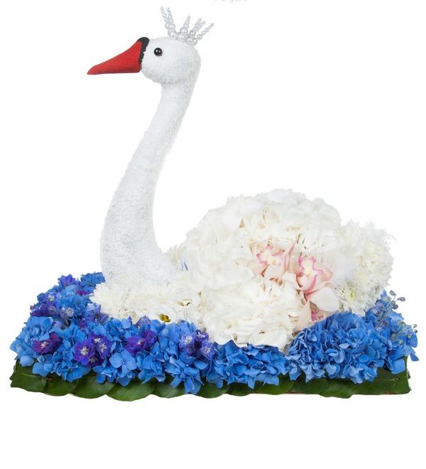 Композиция Лебедь – фото № 2