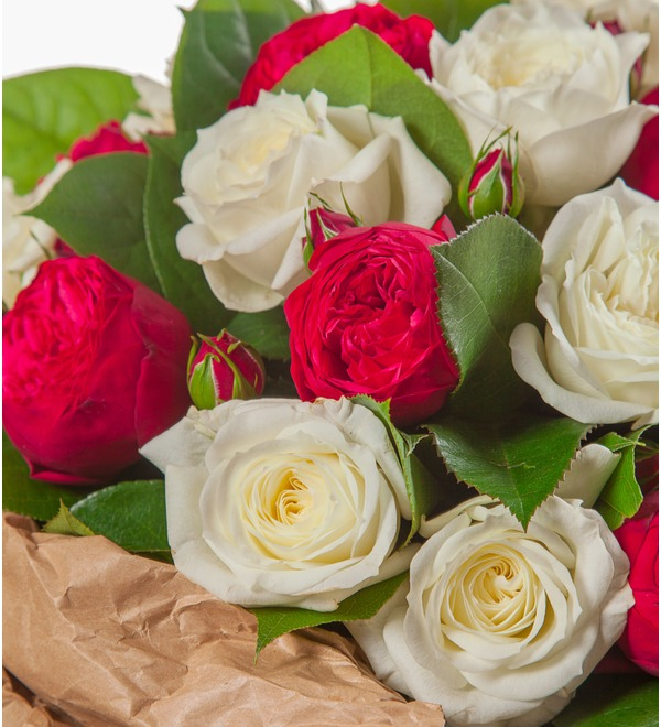 Bouquet of peony roses Eternity (15, 25 or 51) – photo #3