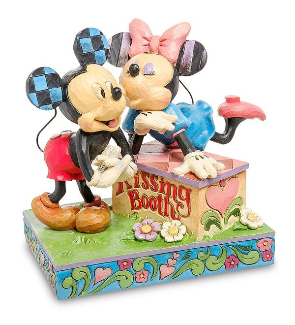 Figurine Mickey and Minnie: The booth of Kisses (Disney) – photo #1