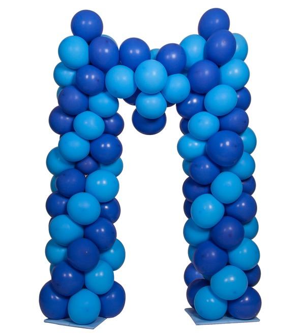 Буква из воздушных шаров – фото № 2