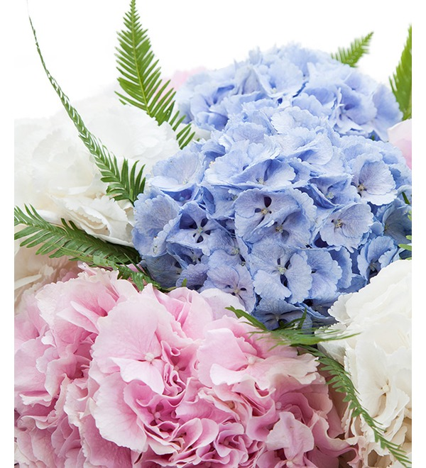 Bouquet of hydrangeas Soaring in the Clouds – photo #4