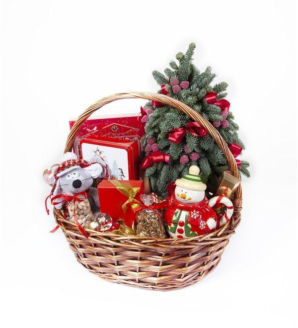 Подарочная корзина Подарки под ёлкой – фото № 5