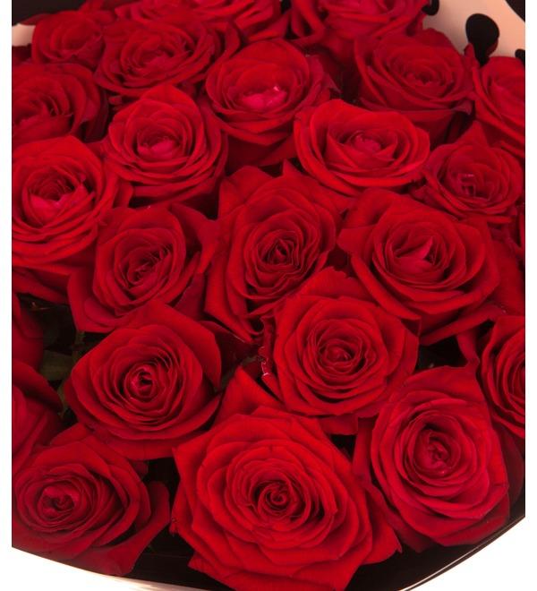 Букет-соло роз Гран При (15,25,35,51,75,101 или 151) – фото № 2