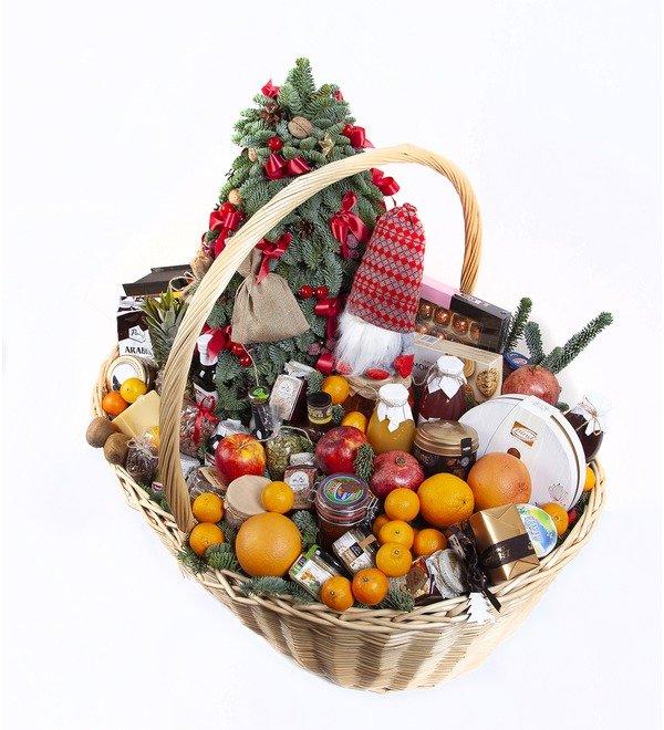 Подарочная корзина Новогодний пир – фото № 4
