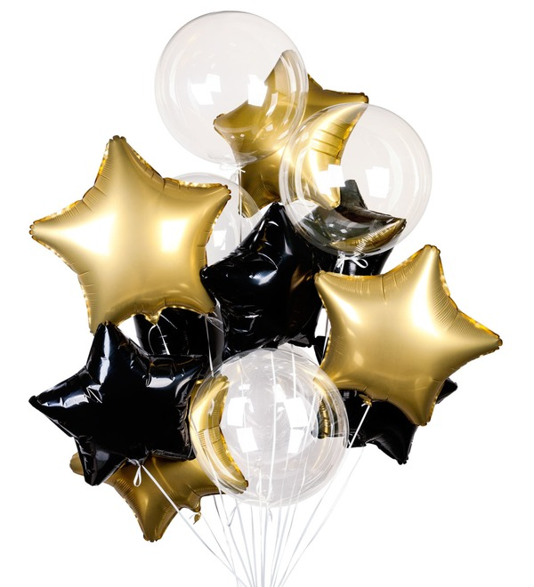 Букет шаров Загадай желание! – фото № 1