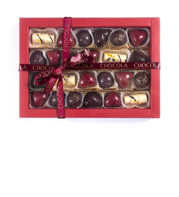 Конфеты ручной работы из бельгийского шоколада Ассорти 24 – фото № 2