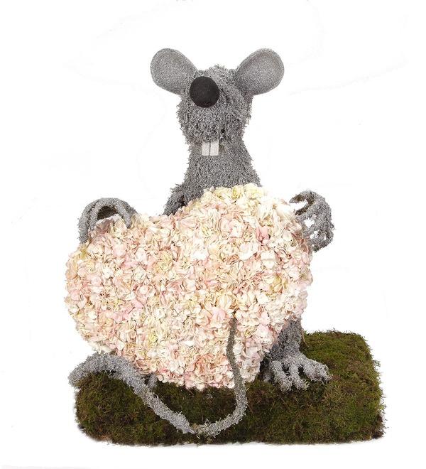 Композиция Любящий мышонок – фото № 5