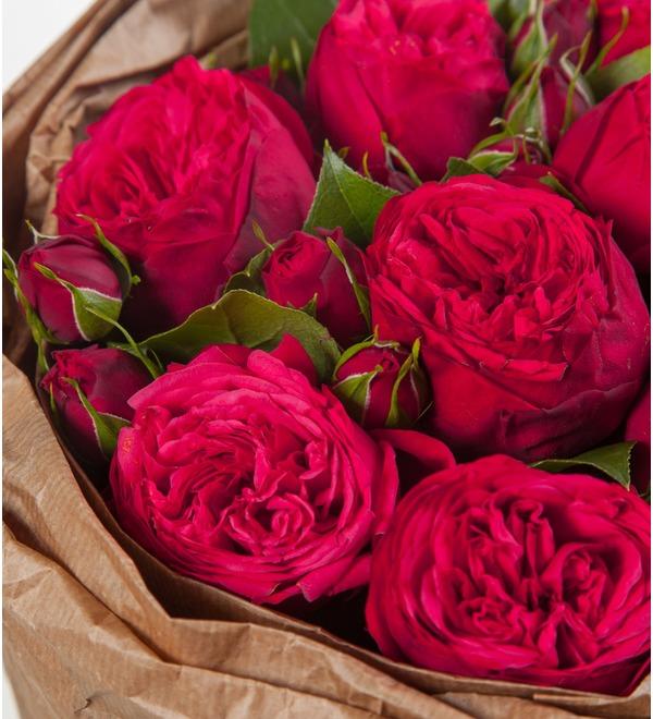 Букет из пионовидных роз Обворожительный – фото № 2