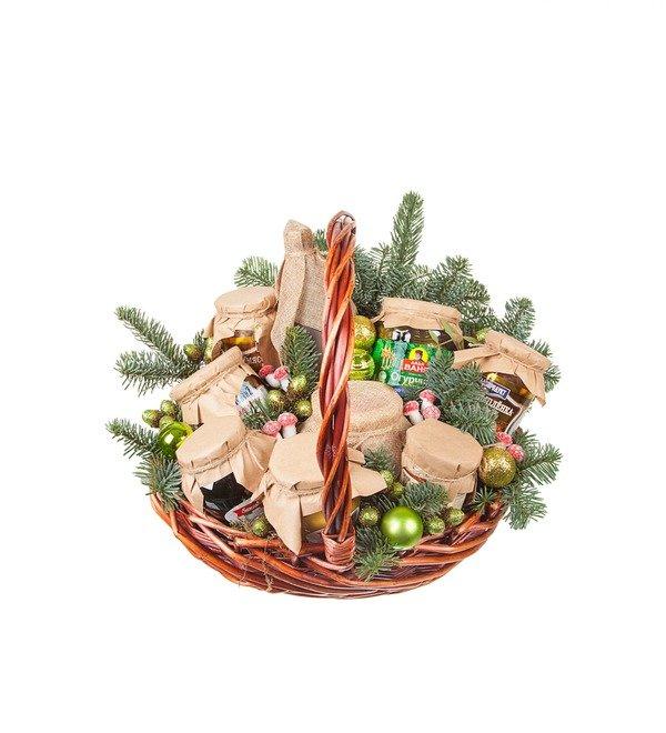 Подарочная корзина Зимние запасы – фото № 5
