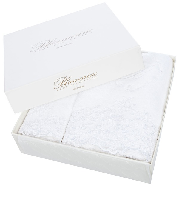 Set of 2 towels Blumarine – photo #3