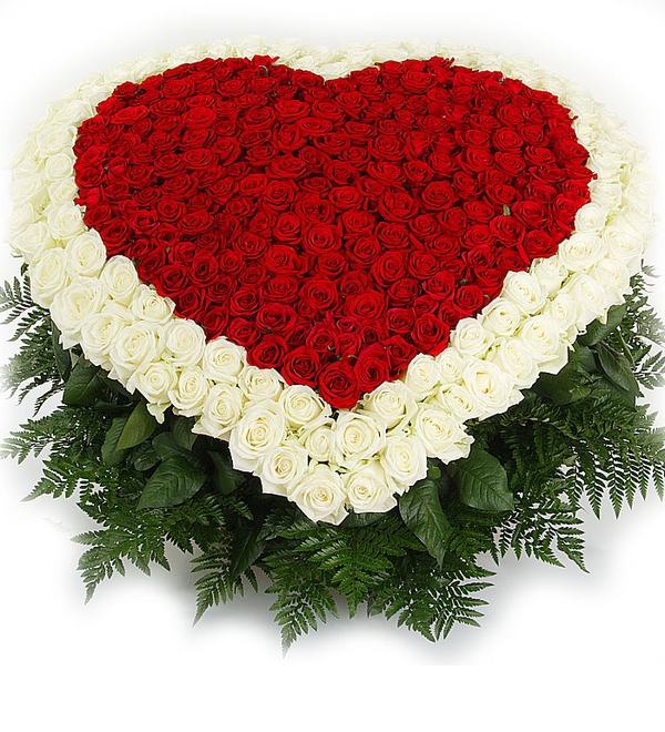 Композиция Счастливая любовь (101, 301 или 501 роза) – фото № 1