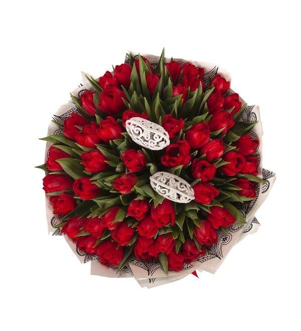 Букет-соло Тюльпаны Largo (25,51,75 или 101) – фото № 4