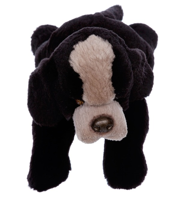 Toy of natural fur Dog Toby – photo #2