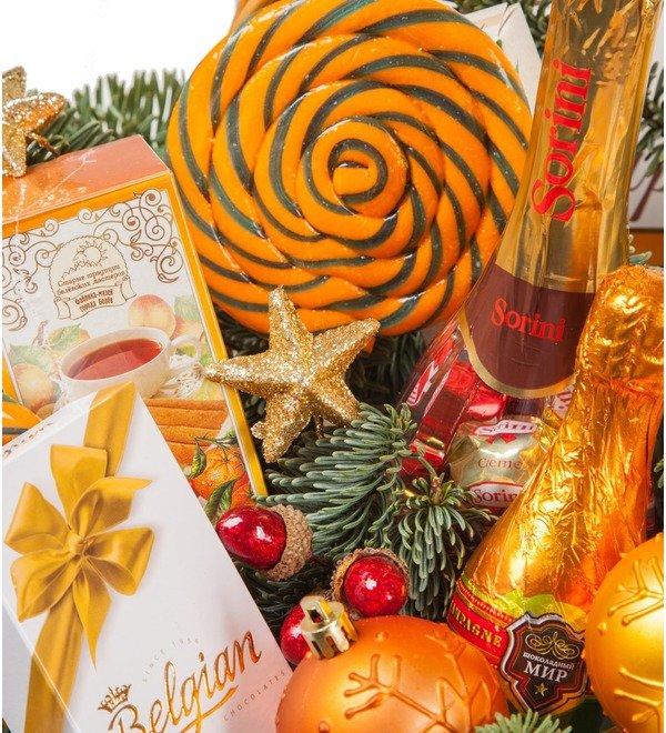 Подарочная корзина Золотая вуаль – фото № 2