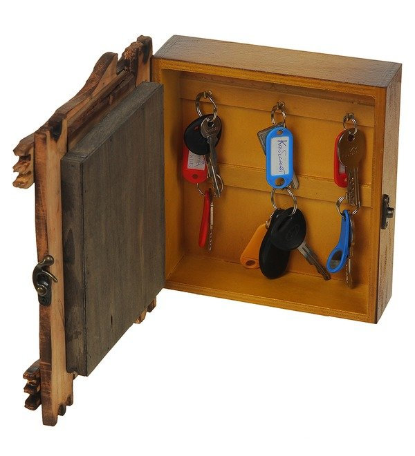 Ключница Домовой Кузя (20х25см) – фото № 3