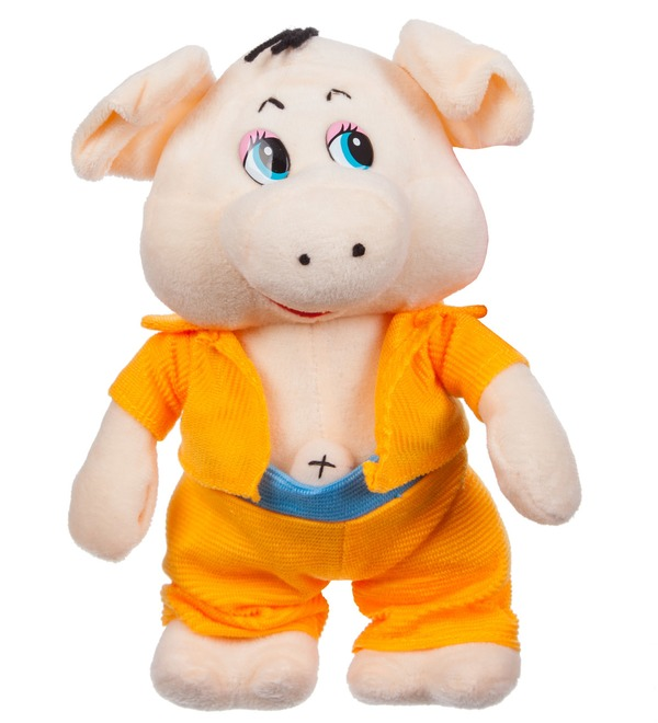 Мягкая игрушка Поросёнок Элвис (23 см) – фото № 4