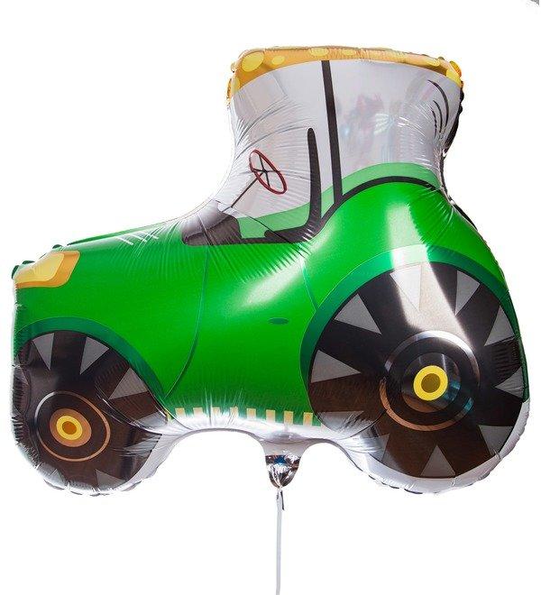 Воздушный шар Трактор (69 см) – фото № 1