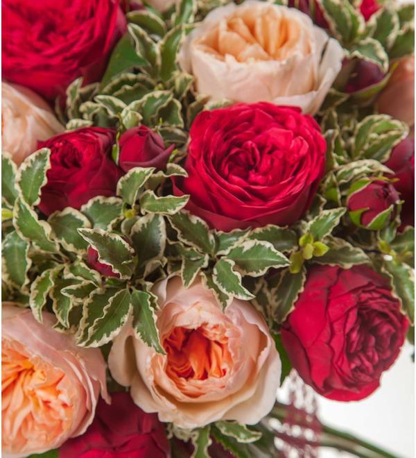 Букет из пионовидных роз Единственная (15, 25 или 51) – фото № 2