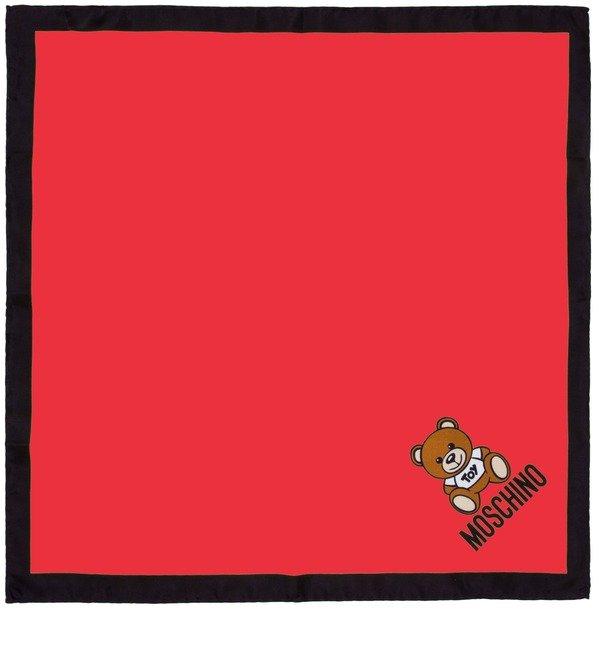 Шелковый платок MOSCHINO Нежность (Италия, 50х50 см) – фото № 1