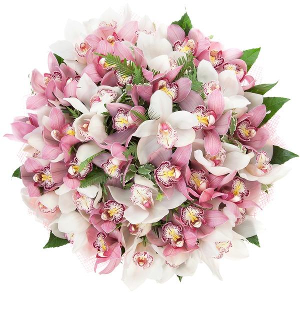 Картинки букет из орхидей
