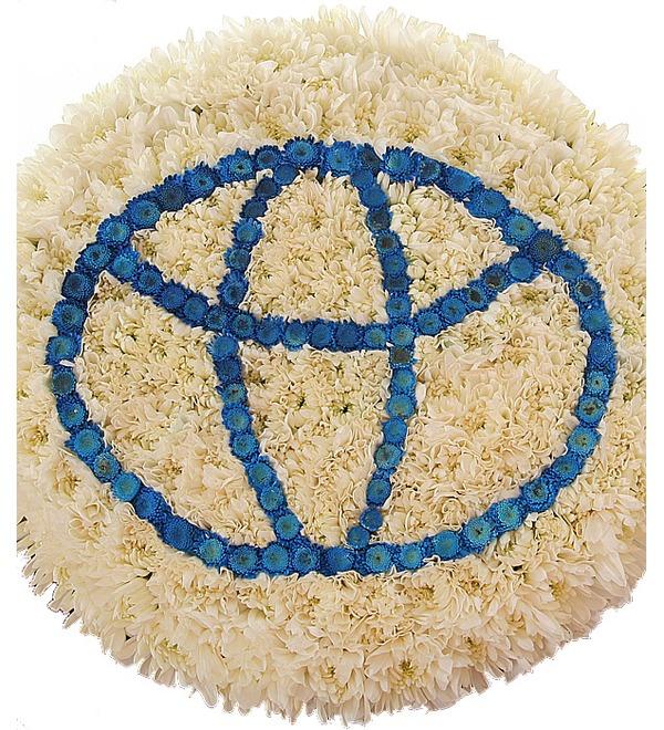 Цветочный логотип Тойота. Любой логотип на Ваш выбор! – фото № 1