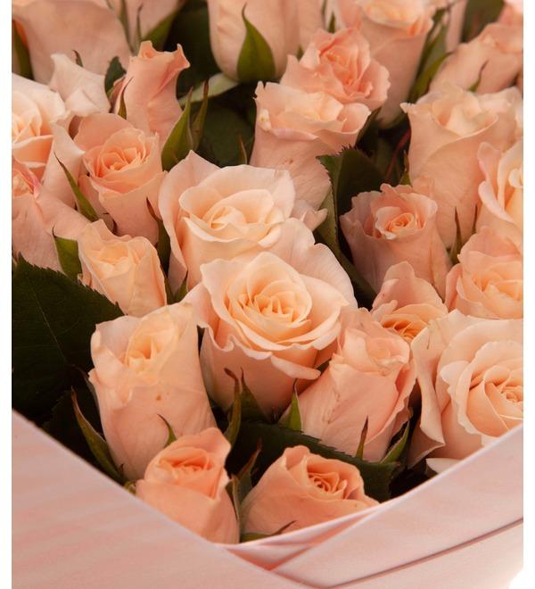 Букет-соло роз Medeo (15,25,35,51,75 или 101) – фото № 2