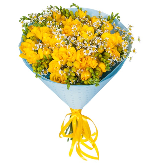 Букет Полевые цветы – фото № 5