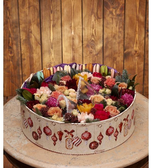 Подарочная коробка Романтика Нового Года – фото № 1